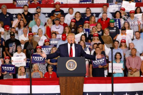 Trump says he disagrees with 'send her back' chants about Omar