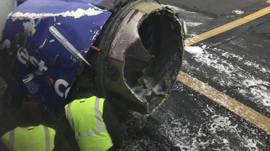 1 Person Dies After Southwest Jet With Engine Trouble Makes Emergency Landing