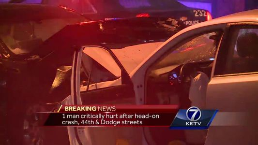 Wrong-way driver results in head-on collision, 1 critically injured