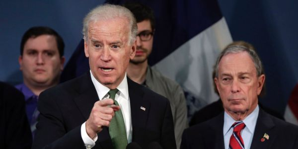 Joe Biden Has a Michael Bloomberg Problem, Democratic Strategists Say