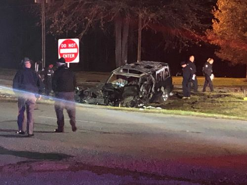 Coroner releases names of two people killed in crash following chase in Spartanburg County