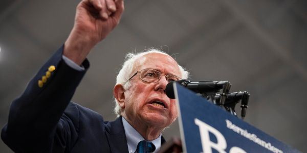 Bernie Sanders starts a fight with the NRA, says US should 'follow New Zealand's lead' and ban assault weapons