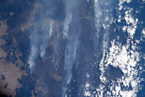 NASA astronaut shares images of Australian wildfires from ISS