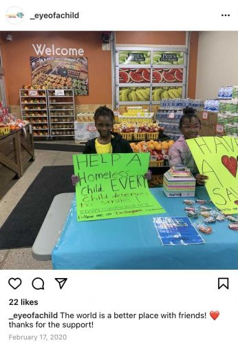 8-year-old starts business to raise money for homeless children