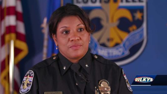WLKY sits down with LMPD interim chief just days before she leaves her post