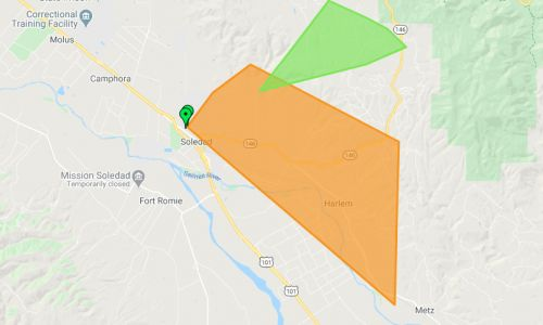Nearly 2,000 without power in Soledad: PG*E