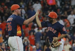 Morton leaves Astros' 6-2 win over Angels due to shoulder