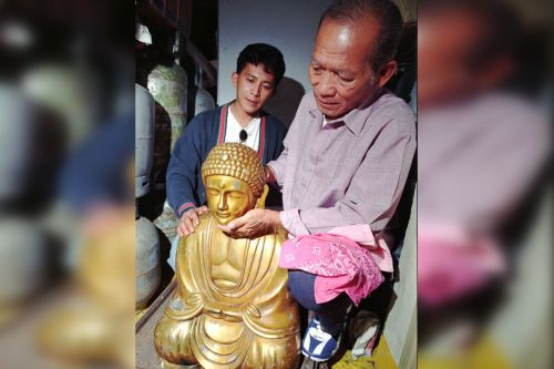Decades old legal battle over golden Buddha statue comes to Manhattan