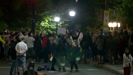 Asheville mayor states support of peaceful protests, condemns violence after man assaulted
