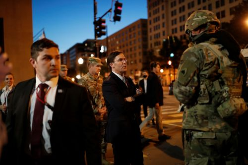 Defense Secretary Mark Esper opposes Trump on use of military in riots