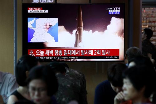 S. Korea says N. Korea has fired more projectiles into sea