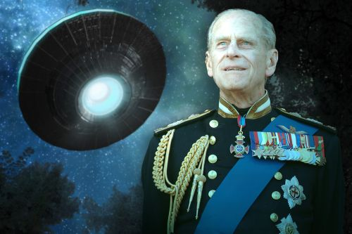 Prince Philip was reportedly fascinated with UFOs