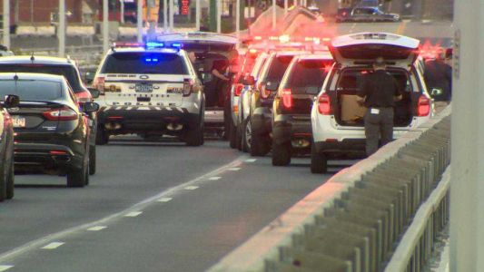 Three children left in vehicle on Homestead Grays Bridge after woman reportedly jumped or fell into river