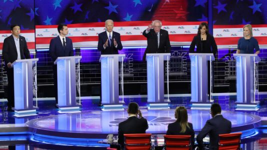 Second Democratic Primary Debate: See Which Candidates Made The Cut