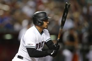 Lamb, Escobar deliver big hits, D-backs beat Rockies 8-7