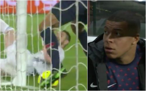 A PSG player is guilty of 'the miss of the century,' and teammate Kylian Mbappe's reaction is priceless