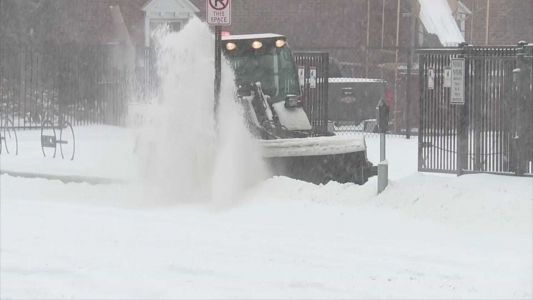 Millions remain in the path of a large-scale winter storm as it tracks through the Northeast
