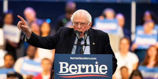 Bernie Sanders says it's 'nonsense' to 'paint' democratic socialism as 'Venezuela' and 'authoritarianism'