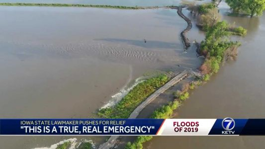Iowa State Rep: 'We need a new zeal of urgency.' Lawmaker frustrated with lack of action with flooding