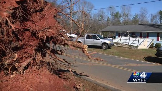 3 Upstate tornadoes confirmed in Upstate, 2 more possible after weekend storms, NWS officials say