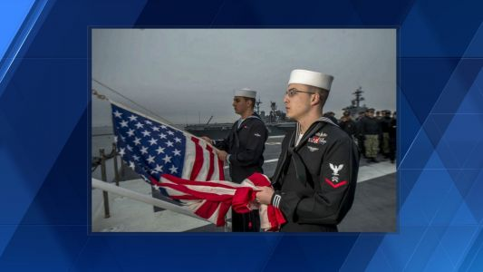 Beaver County native pays tribute to late President aboard the USS George H. W. Bush