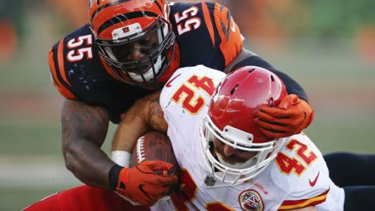 Bengals' banged-up D gets high-flying Chiefs in prime time