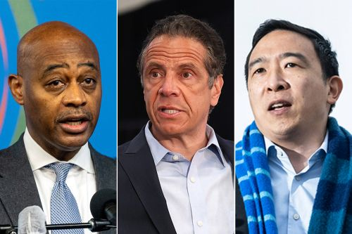 Embattled Cuomo might endorse for NYC mayor, and Yang, McGuire would accept