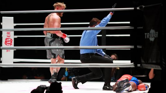 Jake Paul KO'd Nate Robinson in boxing match, and people couldn't believe it