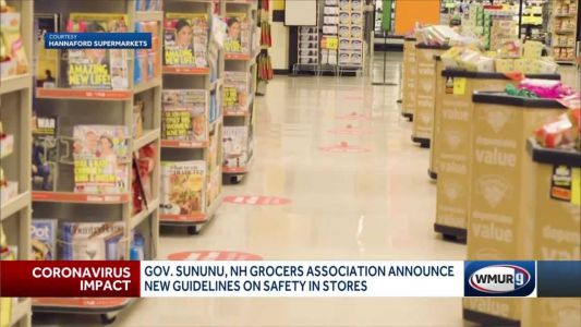 New guidelines released for grocery stores