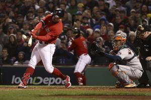 Schwarber slam gives Red Sox big lead in Game 3 of ALCS