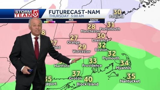 Video: Bitter cold overnight; storm possible Thursday