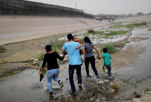 A 6-month-old baby girl is in critical condition after being apprehended by US border agents near the Rio Grande