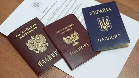 Issuing Russian passports to Eastern Ukrainian residents purely humanitarian act - Lavrov