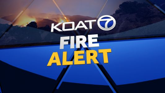Crews battling forest fire in Ponderosa area