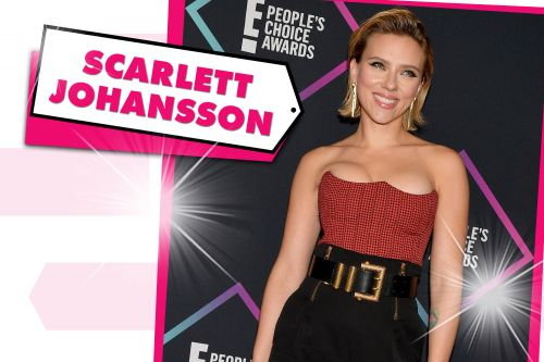 ScarJo turned heads in this eye-popping Versace outfit