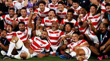 The hottest shirt in sports: More than 200,000 Japan Rugby World Cup jerseys sold after team's incredible run