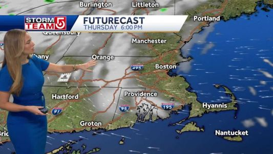 Video: Hot stretch of weather moving in