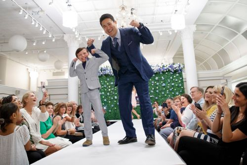 Yankees stars hit runway to bring smiles, style to kids with cancer