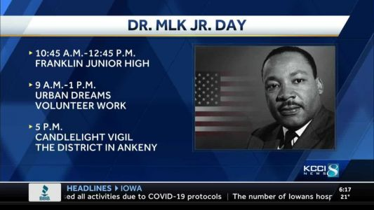 Iowa events honor Martin Luther King Jr