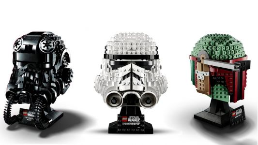 Embody the 'Star Wars' empire with new Lego helmet sets