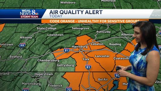 Weather: Air quality alert in effect for parts of Susquehanna Valley