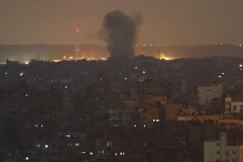 As rockets rain down, Israel intensifies its strikes in Gaza