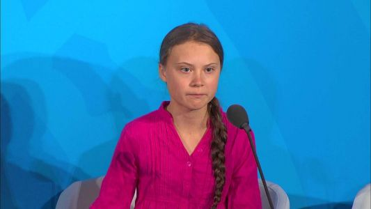 'How dare you': 16-year-old climate activist delivers striking message to leaders at UN