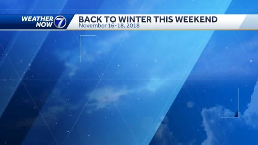 A few days of nicer weather before cold, snow return this weekend