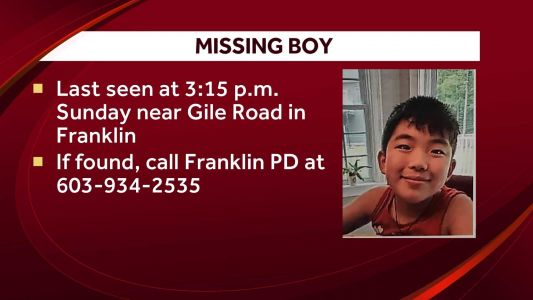 NH police say 11-year-old boy is missing