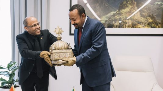 Precious Ethiopian Crown Returned -After 21 Years Stashed In A Dutch Apartment
