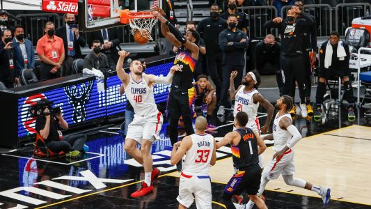 Chris Paul, NBA Twitter react to DeAndre Ayton's game-winning dunk in Suns vs. Clippers