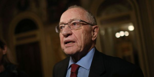 Trump's impeachment lawyer Alan Dershowitz justified the president's post-acquittal meddling with a wild conspiracy theory about Obama and George Soros