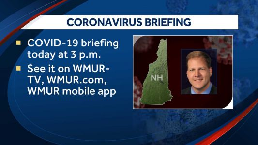 Live at 3: Gov. Sununu holds briefing about COVID-19 response