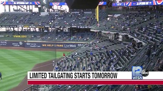 Tailgating returns for baseball fans